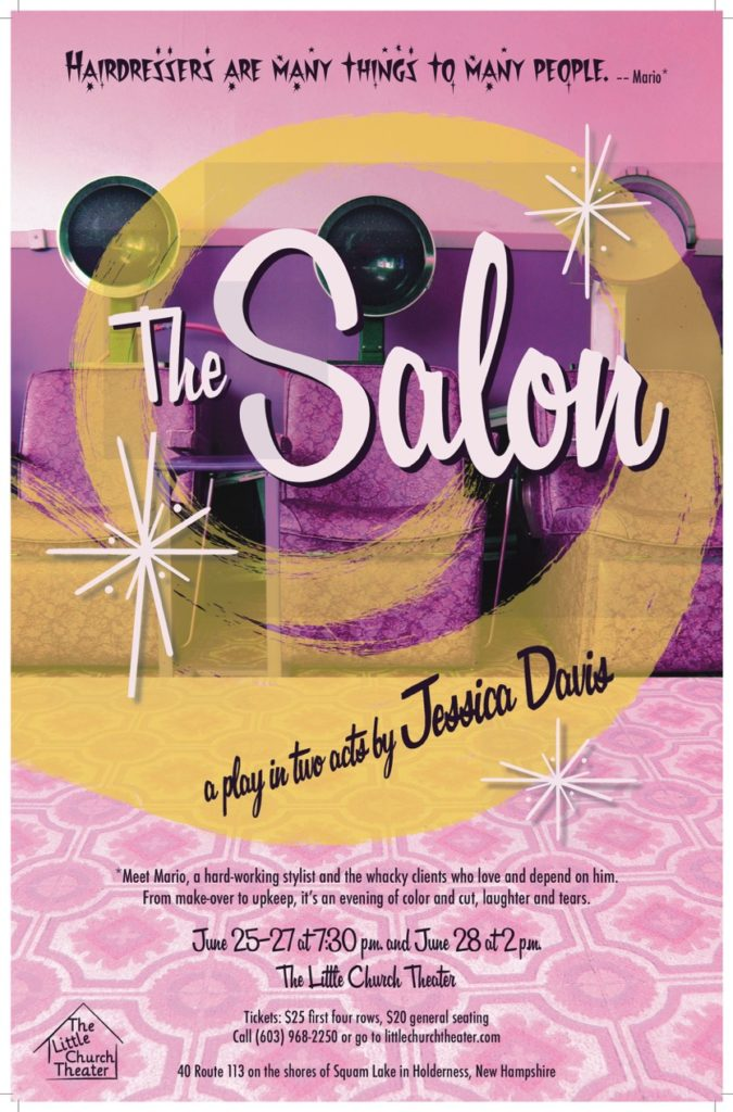 The Salon playbill