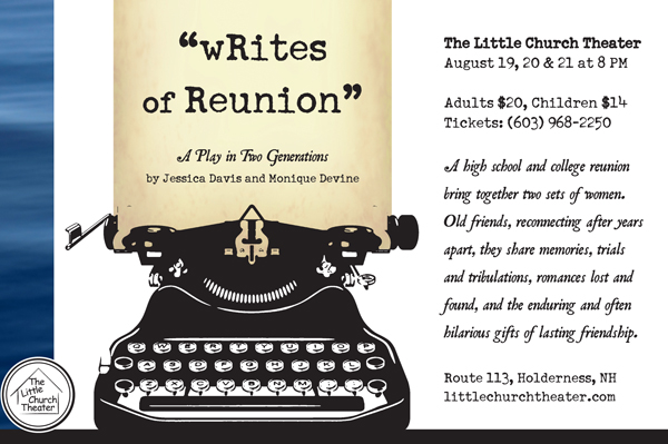 wRites of Reunion playbill